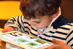 Digitale Kinderbücher in Büchereien