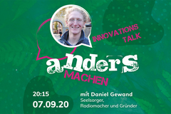 Innovationstalk am 7. September
